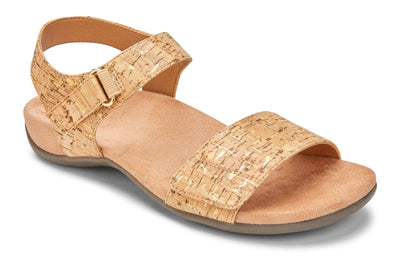 Vionic Womens Marsala Gold Cork