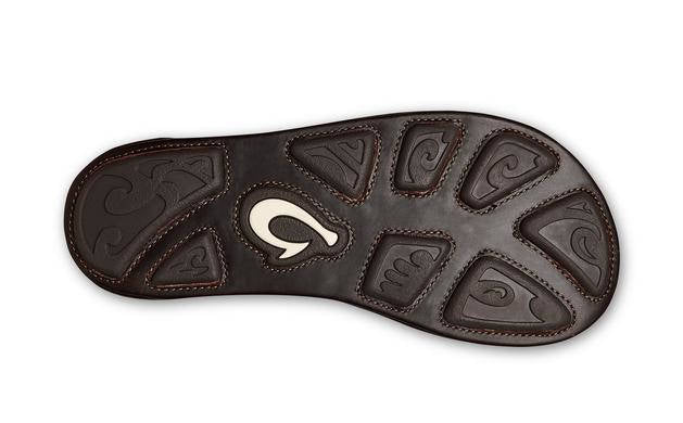 Olukai Mens Mea Ola Hunter Dark Java