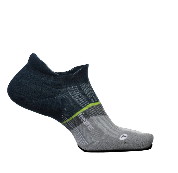 Feetures Merino 10 Ultra Light No Show Tab French Navy
