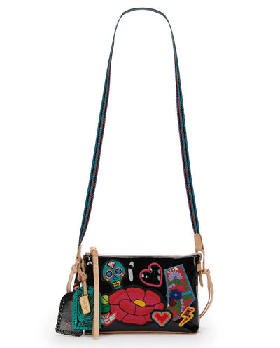 Consuela Midtown Crossbody Poppy Black
