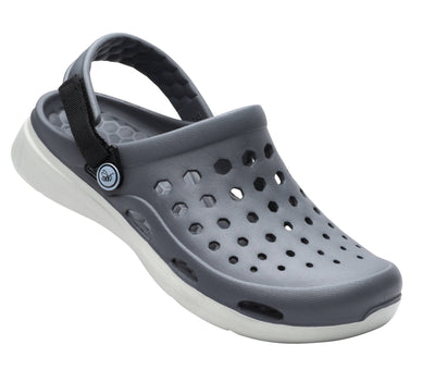 Joybees Mens Modern Clog Charcoal Light Grey
