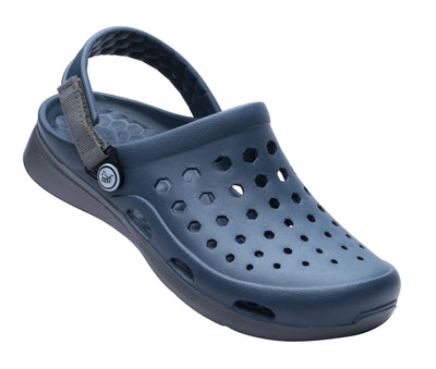 Joybees Womens Modern Clog Navy Charcoal