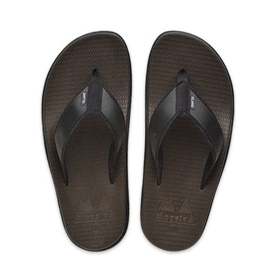 Island Slipper Mens Moku Kane Black