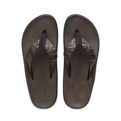 Island Slipper Womens Moku Wahine Jungle