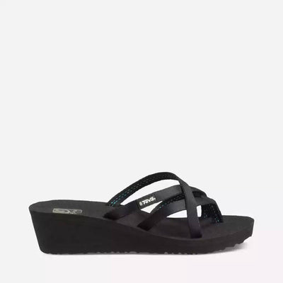 Teva Womens Mush Mandalyn Wedge Ola 2 Black