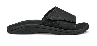 Olukai Mens Nalu Slide Black