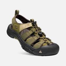 Keen Mens Newport Hydro Dark Olive Antique Bronze