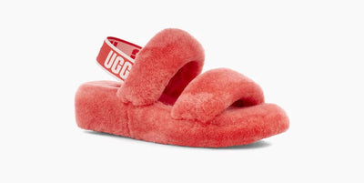 UGG Womens Oh Yeah Slide Pop Coral