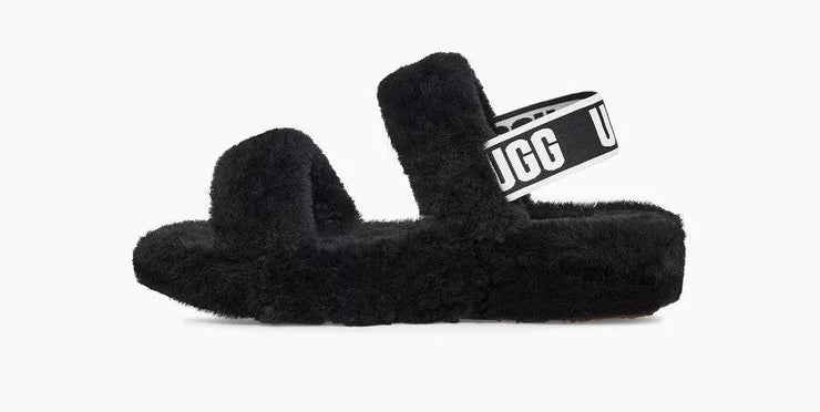 UGG Womens Oh Yeah Slide Black