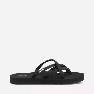 Teva Womens Olowahu Black on Black