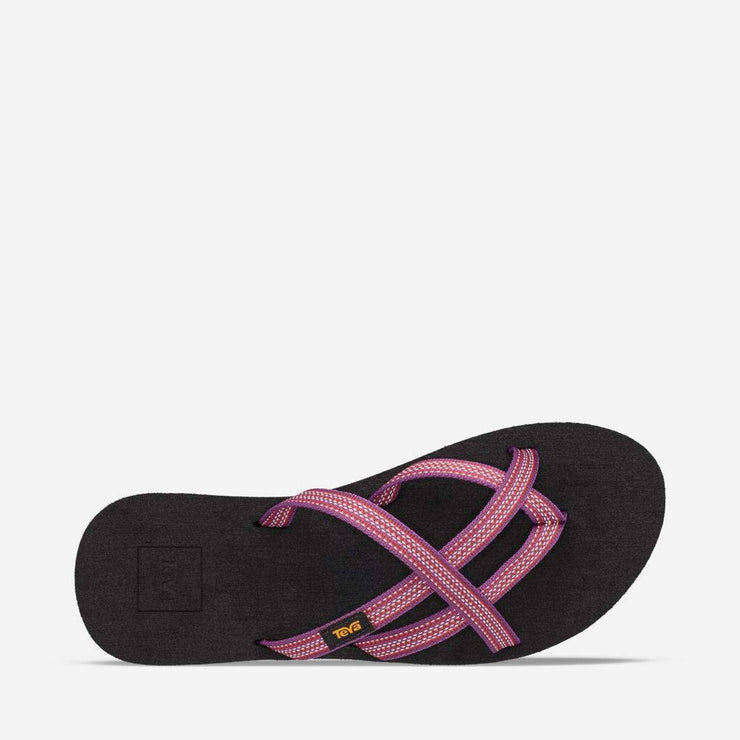 Teva Womens Olowahu Antiguous Red Plum