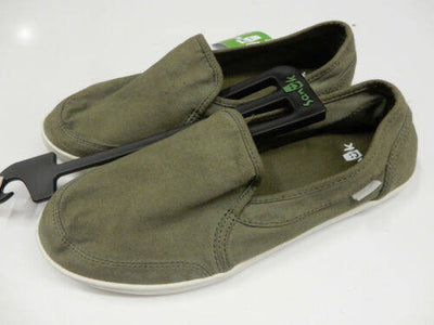 Sanuk Womens Pair O Dice Military Green