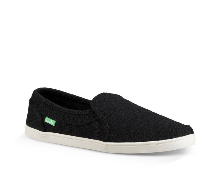 Sanuk Womens Pair O Dice Hemp Black