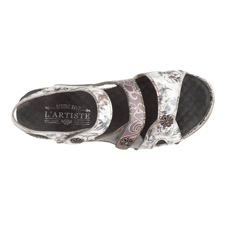 L'Artiste Womens Prosperity Grey Multi