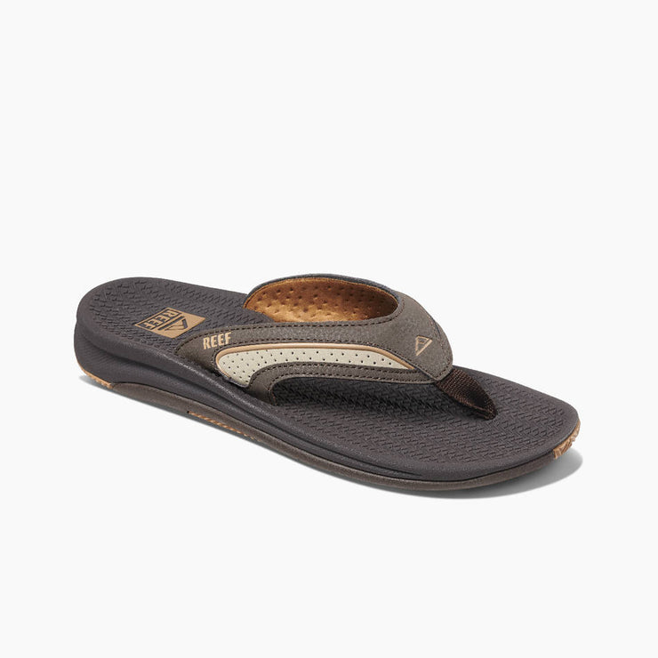 Reef Mens Flex Dark Brown Tan