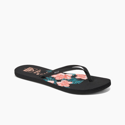 Reef Womens Bliss-Full Aloha Hibiscus