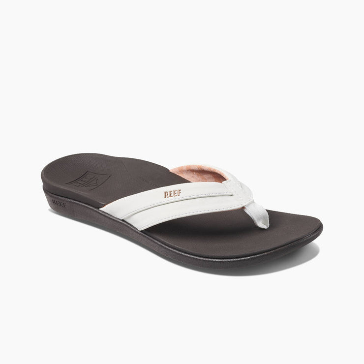 Reef Womens Ortho-Bounce Coast Brown White