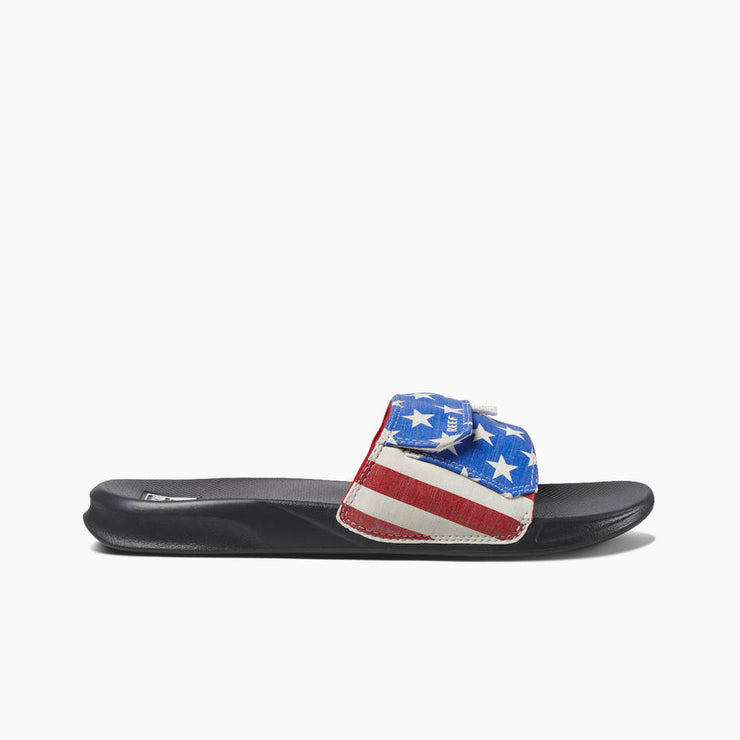 Reef Mens Stash Slide USA
