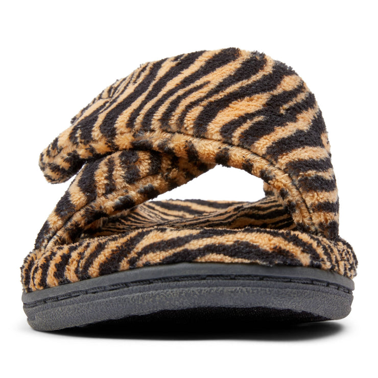Vionic Womens Relax Slipper Tiger Natural