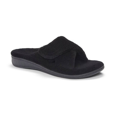 Vionic Womens Relax Slipper Black