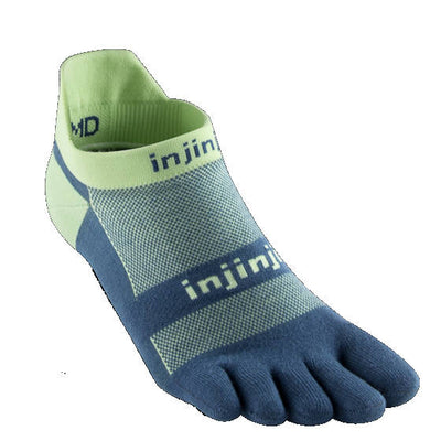 Injinji Run Lightweight No Show Seafoam