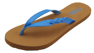 Flojos Womens Serenity Blue Tan