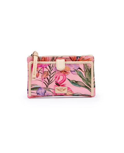Consuela Slim Wallet Brynn Flamingo