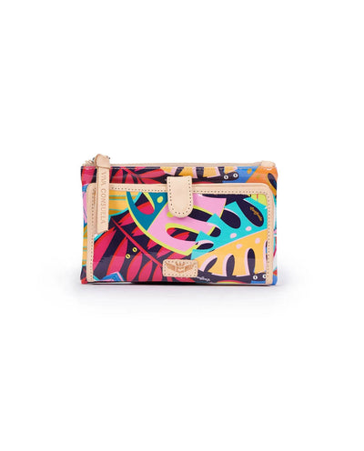 Consuela Slim Wallet Maya Tropical