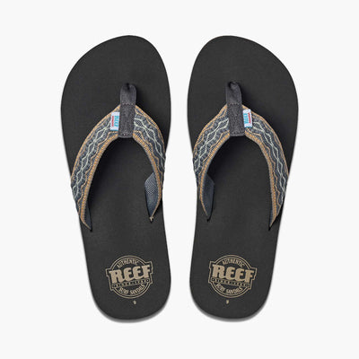Reef Mens Smoothy Grey Green