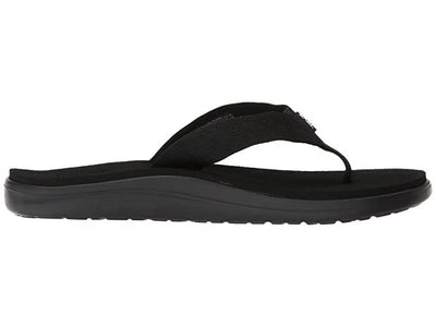 Teva Mens Voya Flip Brick Black