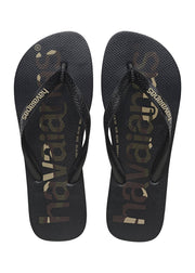 Havaianas Mens Top Logomania Black Black White