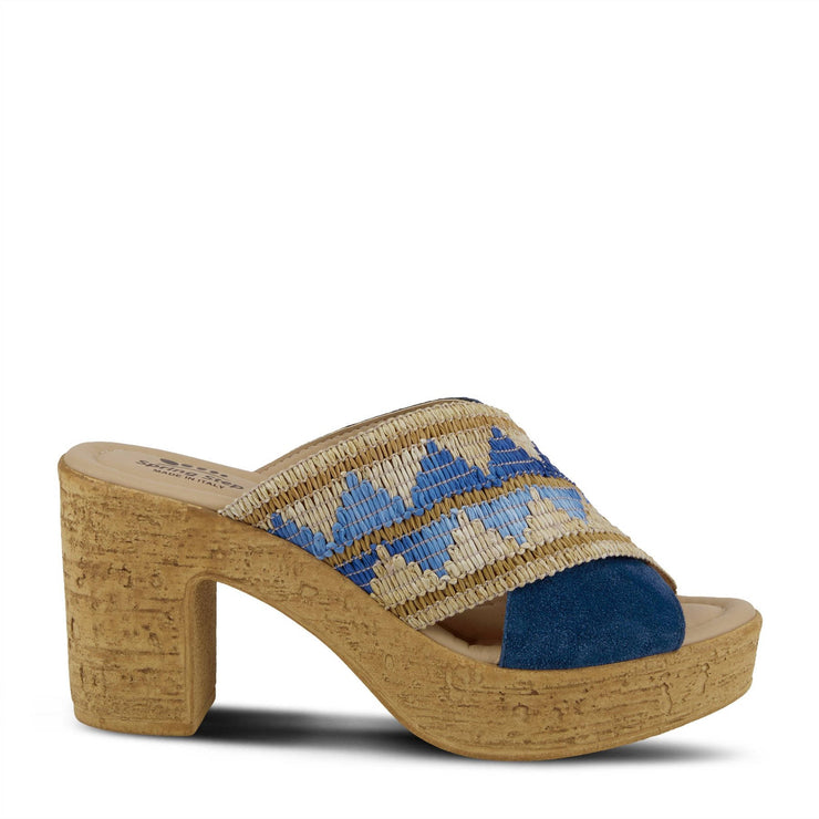 Spring Step Womens Tribeca Blue Multi