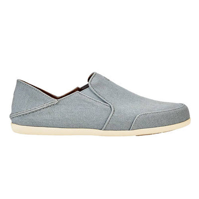 Olukai Womens Waialua Canvas Pale Grey