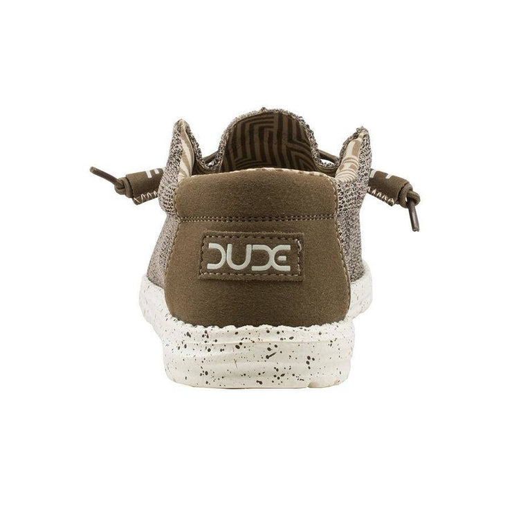 Hey Dude Mens Wally Sox Brown