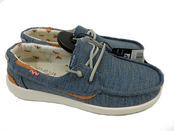 Hey Dude Mens Welsh Chambray Blue