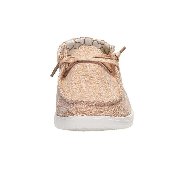 Hey Dude Womens Wendy Sparkling Rose Gold