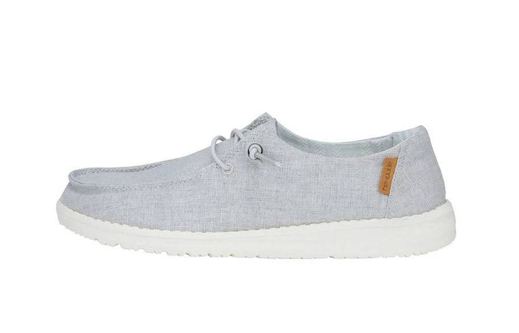 Hey Dude Womens Wendy Chambray Light Grey