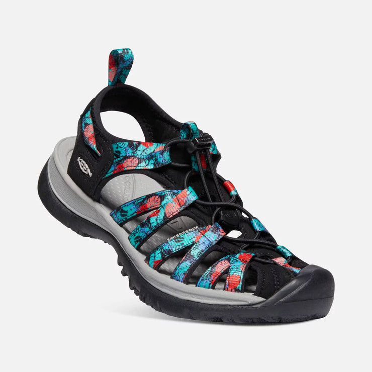 Keen Womens Whisper Black Multi