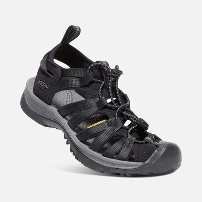 Keen Womens Whisper Black Magnet