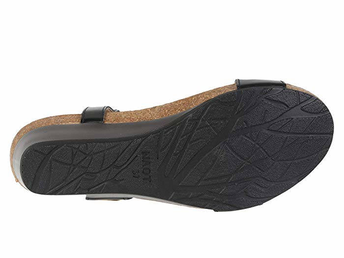 Naot Womens Wizard Black Raven Leather