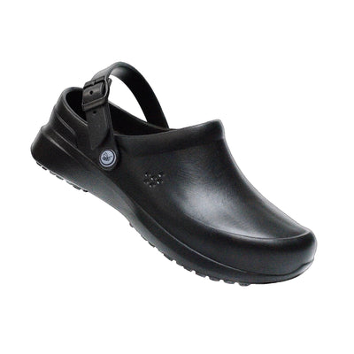 Joybees Mens Work Clog Black