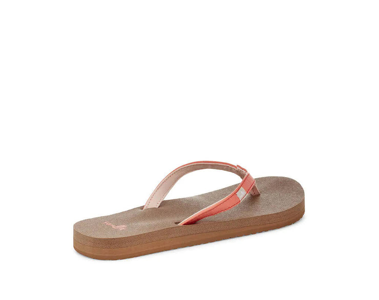 Sanuk Womens Yoga Joy Coral