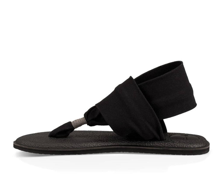Sanuk Womens Yoga Sling 2 Black