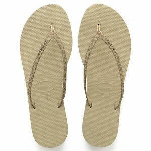 Havaianas Womens You Animals Sandal Sand Grey