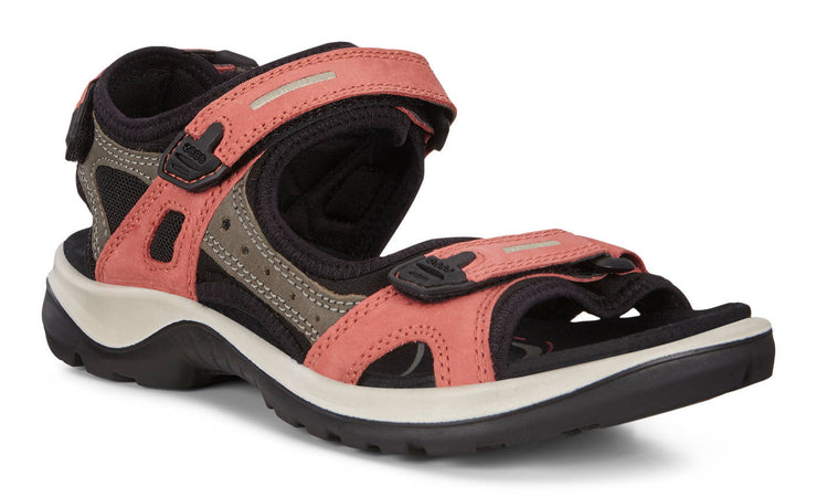 Ecco Womens Yucatan Apricot Dark Clay