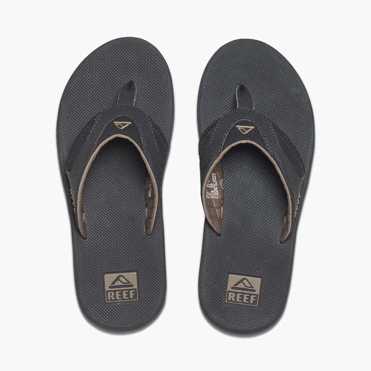Reef Mens Fanning Black Brown