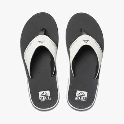 Reef Mens Fanning Grey White