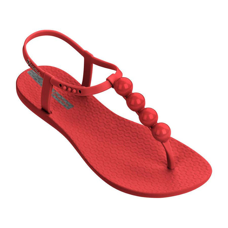 Ipanema Womens Pearl Red Silver