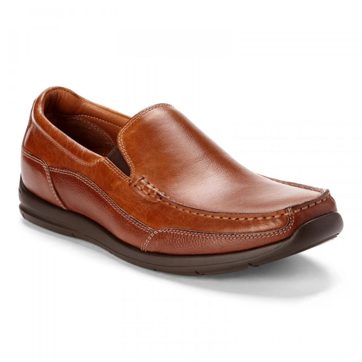 Vionic Mens Preston Slip On Loafer Tan
