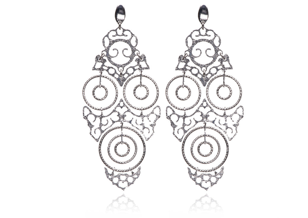 EX-015/S - Filigree earrings